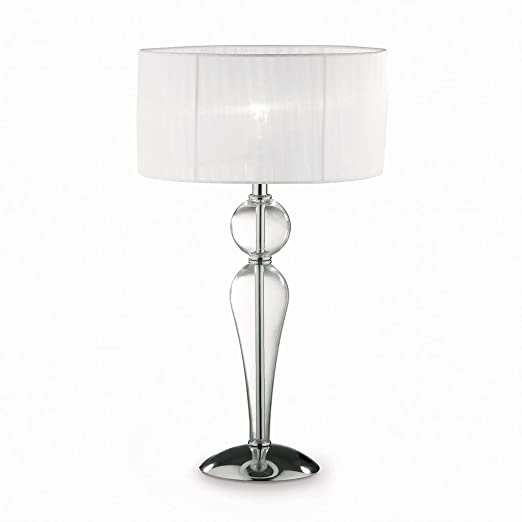 Ideal Lux Duchessa Tl1 Big Table Lamps Transparent White