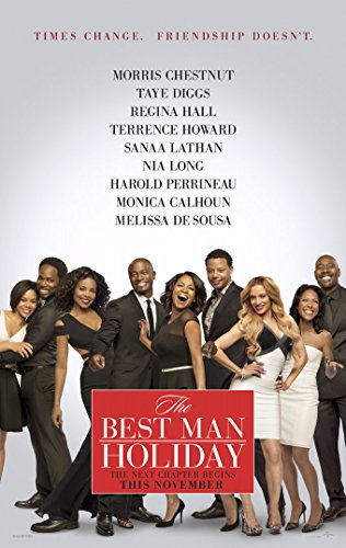 BEST MAN HOLIDAY MOVIE POSTER 2 Sided ORIGINAL 27x40 MORRIS CHESTNUT (Morris Chestnut The Best Man Holiday)