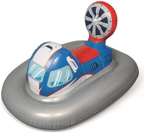 Piscina Inflable Flotador Balsa Rideable Moto Barco Adulto Niños Juguetes de Agua al Aire Libre 118X87.5CM: Amazon.es: Deportes y aire libre