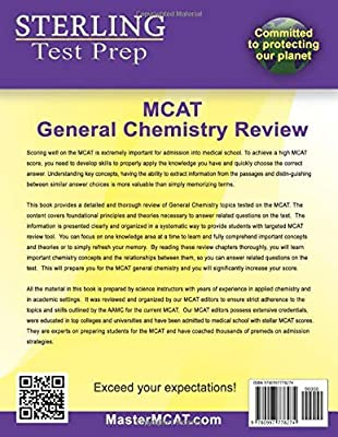 Sterling Test Prep MCAT General Chemistry Review: Complete