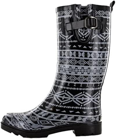 Northside Women's Knee High Waterproof Rain Puddle Snow Fashion Boots