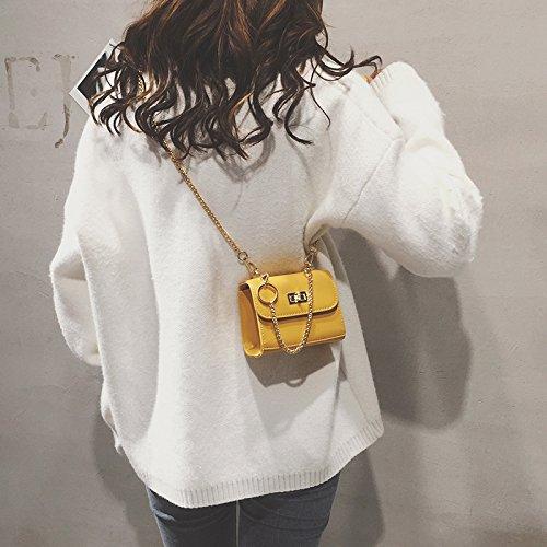 Super Bag Yellow Female Tide Tale Chain Wxin Bye Chic Bye Fairy Satchel Chain Ins Bag Fire FaqWHAR5xw