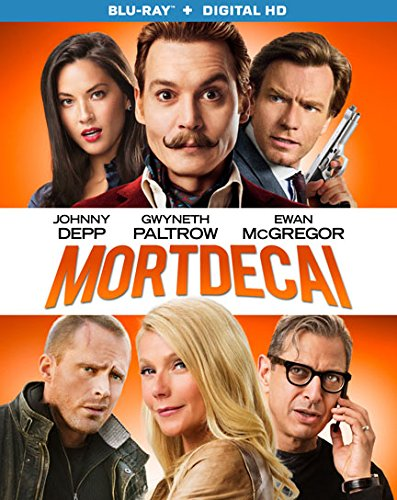 Blu-ray : Mortdecai (Blu-ray)