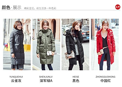 Generic High-Vatican winter new casual version long section female Korean fashion warm down jacket thick coat tide for women girl by Generic (Image #8)