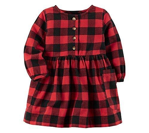 Carter's Baby Girls' Checkered Dress 3 Months -