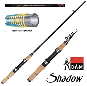 DAM Shadow Tele Mini Spin 15 - 7.00 ft, 5-15g, 6 parts, 112g