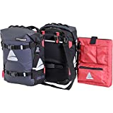 Axiom Tempest Hydracore P35 Plus Panniers: Gray