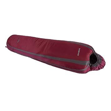 TRANGO Erie 600 - Saco de Dormir, Color Granate Claro/Granate Oscuro, Talla Der: Amazon.es: Deportes y aire libre