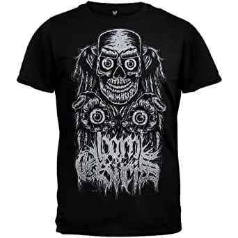Born Of Osiris - Mens Faces Of Death T-shirt Large Black
