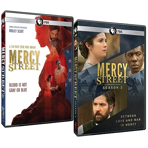 Mercy Street: Complete Seasons 1 & 2 DVD Set