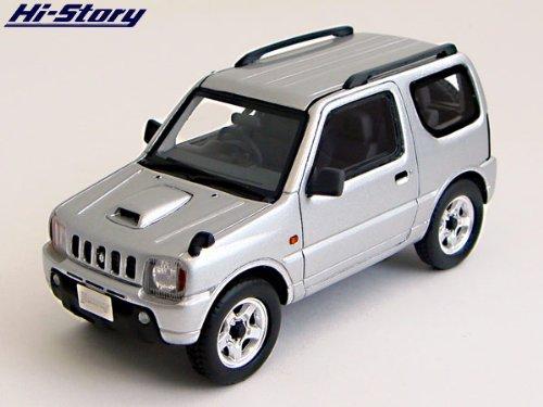 Hi Story 1 43 Suzuki Jimny Xc 1998 Silky Silver Metallic Japan