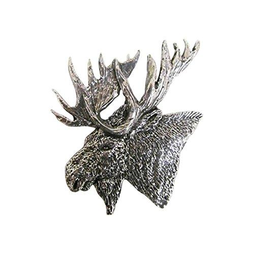 En étain ~ Premium Moose Head ~ Pin's (épinglette/Broche ~ m016pr