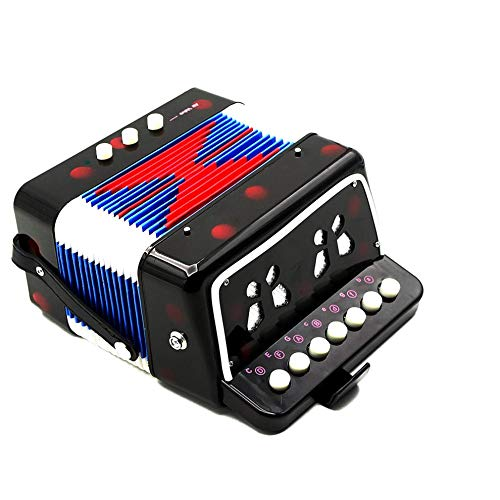 1PC Mini Kids Accordion 7-Key 3 Bass Educational Childrens Beginner Practice Music Instrument Band Toy by Quannaus (Image #8)