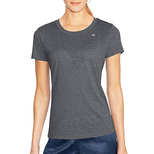 Champion by Vapor Short Sleeve Heather Women's T-Shirt_Granite Heather_Large
