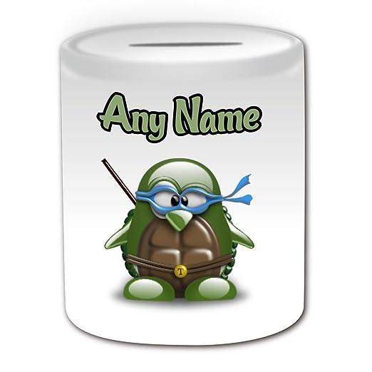 Personalised Gift - Teenage Mutant Ninja Turtles Money Box ...