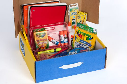 School Tool Box Second Grade Super School Supplies Kit in Keepsake Box