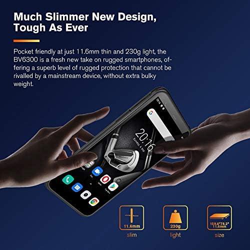 "Blackview BV6300 Unlocked Rugged Phones, Android 10 Octa-core 3GB + 32GB, 13MP Four Rear Camera 5.7"" HD+ Screen IP68 Waterproof Smartphone, 4380 mAh Battery Dual 4G Rugged Smartphones -Black WeeklyReviewer"