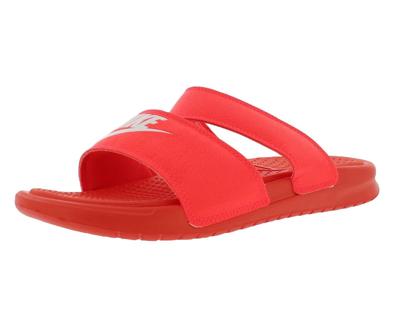 Nike Damen Wmns Benassi Duo Ultra Slide Zehentrenner Rojo (Bright Crimson / White)