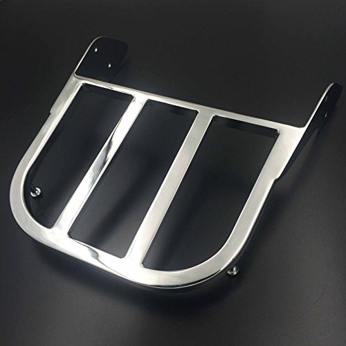 me Sissy Bar Luggage Rack For Honda ACE 750 Spirit 750 Aeri 1100 VLX 600 Magna ACE 1100 ACE Sabre ACE Tourer (750 Honda Parts Part)