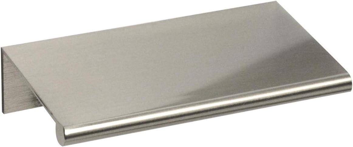 #3306-3 In. Ckp Brand zurück Mount Finger Edge Pull, Brushed Nickel