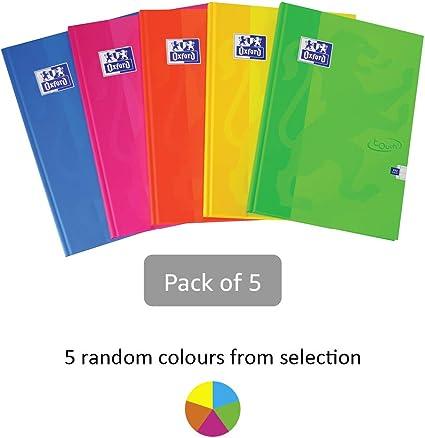 Cuaderno de tapa dura, de Oxford, tamaño A4 y 192 páginas, colores ...