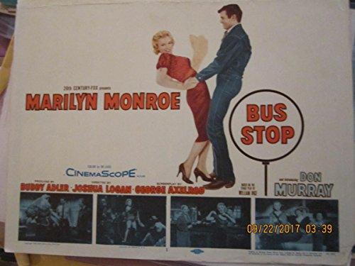 Marilyn Monroe Bus Stop 1958 original lobby card
