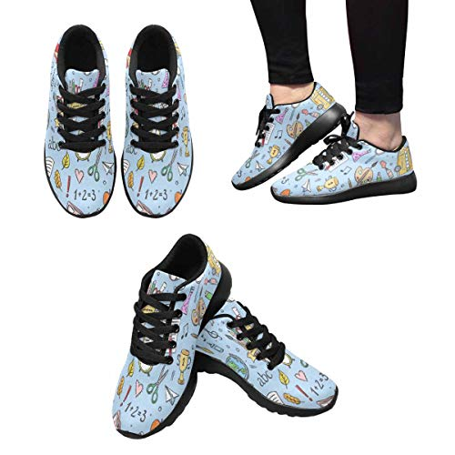 10 Trainers Sneakers Running Cross Multi Women's InterestPrint w7Y4g7U