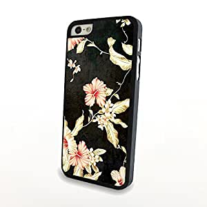 Vintage Painting Red Flowers Carrying Back Plastic Cover for iPhone 5/5s Matte Skin Hard Case Wholesale and Retail - Can Customize for Other Phones