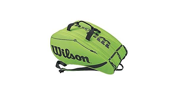 Amazon.com: Wilson Rak Pak bolsa de tenis: Sports & Outdoors