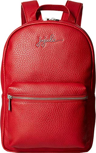 JuJuBe Mini Vegan Leather Backpack, Ever Collection - Red           ()