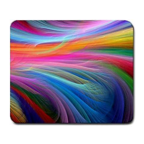 mp289-Fractal-Rainbow-Ocean-Mouse-Pad