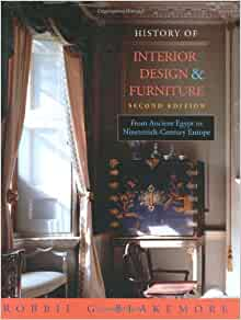 Amazoncom history of interior design and furniture from for Interior design history books