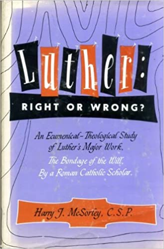 Image result for Luther right or wrong Harry McSorley
