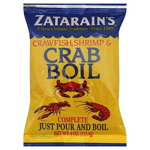Zatarain's Crawfish, Shrimp & Crab Boil 4 Oz (Pack of 4)