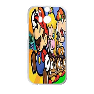 Super Mario For HTC One M8 Csaes phone Case THQ140403