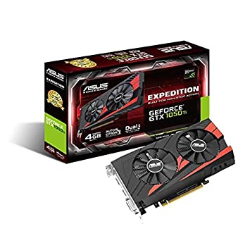 ASUS GTX1050Ti-4G - Tarjeta gráfica (NVIDIA GPU Boost 2.0, Memoria de 4 GB GDDR5, PCIE Express 3.0, hasta 7680 × 4320): Amazon.es: Informática