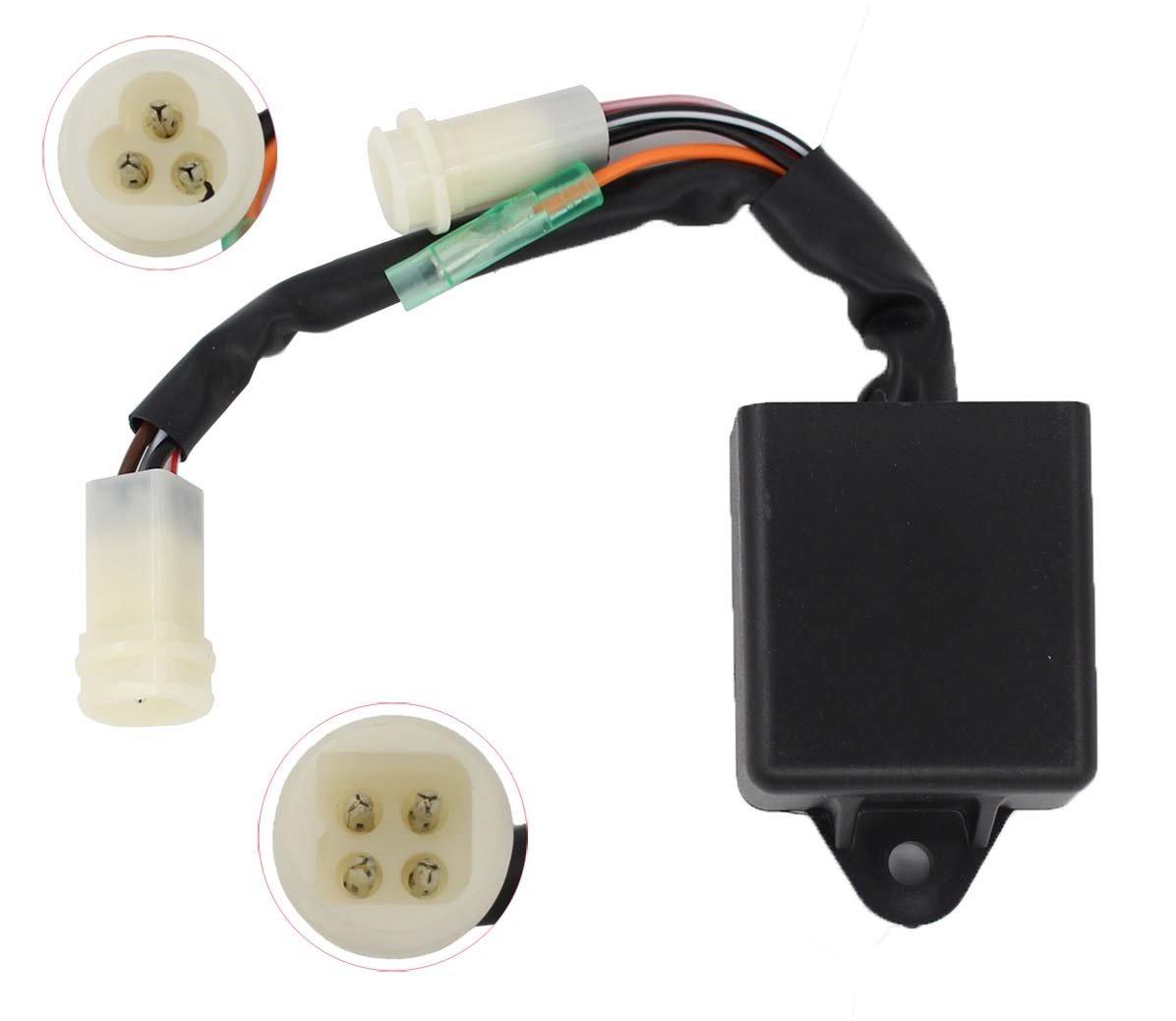 CDI Box Unit Module For Yamaha Yamaha YFM 225 86 88 YFM 250 Moto 4 89 90 91 225 Replace # 59V-85540-20-00 59V-85540-21-00 59Y-85540-21-00
