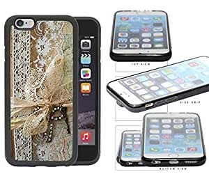Vintage Lace Design Scrapbook Cover Rubber Silicone TPU Cell Phone Case Apple iPhone 6