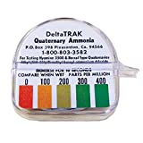 DeltaTrak 50013 Quat Ammonium Test Papers