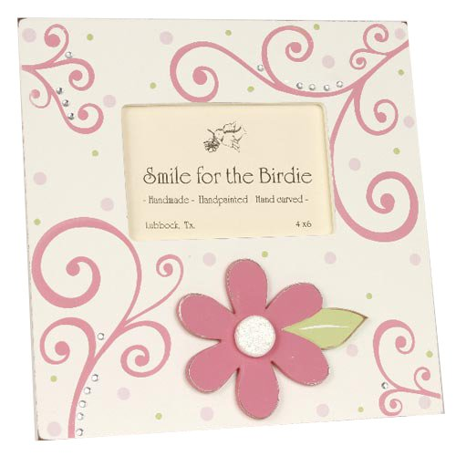 Renditions by Reesa Pink Elegant Flower Picture Frame