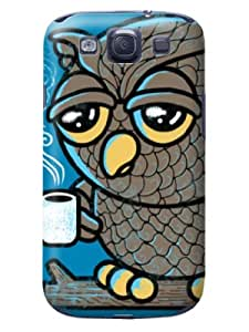Shining design tpu phone back cover with cartoon for Samsung Galaxy s3