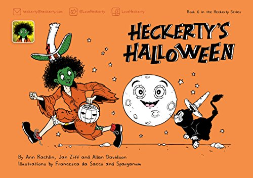 Heckerty's Halloween: A Funny Family Storybook for Learning to Read English -