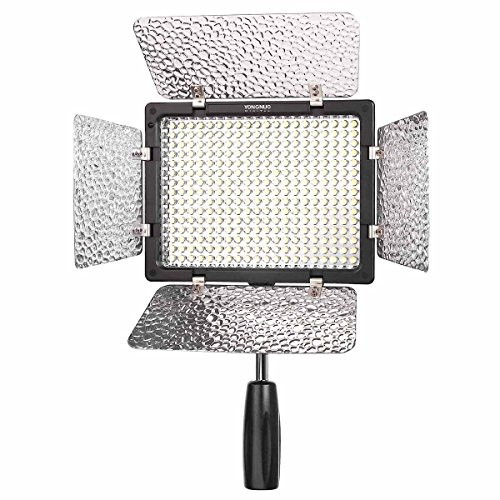 YONGNUO YN-300-II 300 LED Camera/Video Light with Remote for Canon, Nikon, Samsung, Olympus, JVC, Pentax Cameras & Camcorders by Yongnuo