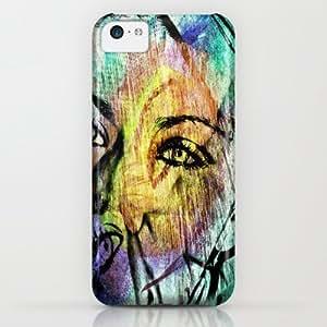 Distorted View iPhone & iphone 5c Case by Del Vecchio Art By Aureo Del Vecchio