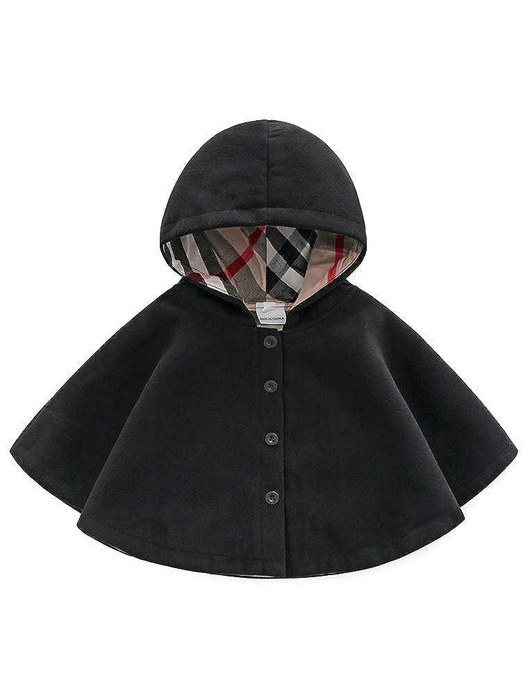 ARAUS Manteau Cap Hiver pour B/éb/é Enfant Fille Blouson Coupe-Vent Veste Blazar 1-8 Ans