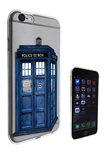 c0076 - Doctor Who Tardis Police Call Box Design iphone 6 6S Fashion Trend Hülle Schutzhülle Schutzcase Gel Rubber Silicone Hülle