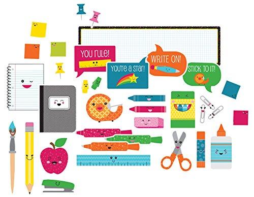 Carson Dellosa School Pop School Tools Mini Bulletin Board Set (110330) - School Tools