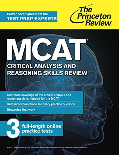 The Princeton Review MCAT Critical Analysis and Reasoning Skills Review (1st 2015) [Princeton Review]