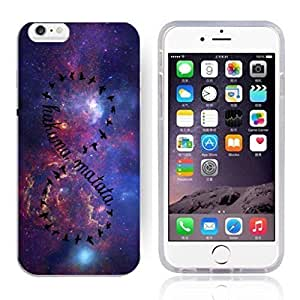 Africa Ancient Proverb Color Accelerating Universe Star Design Pattern HD Durable Hard Plastic Case Cover for iPhone 6 Plus Kimberly Kurzendoerfer