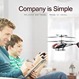 "GPTOYS G610 11"" Durant Built-in Gyro Infrared Remote Control Helicopter 3.5 Channels with Gyro and LED Light for Indoor Ready to Fly"